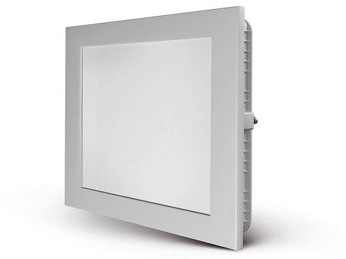 Luminaria LED quadrada de embutir