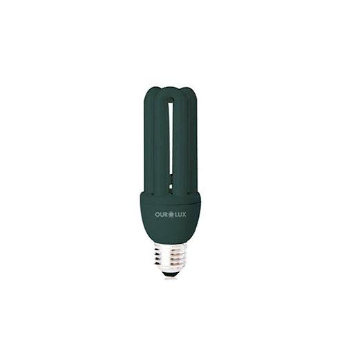 Compacta Fluorescente Negra 20W E-27