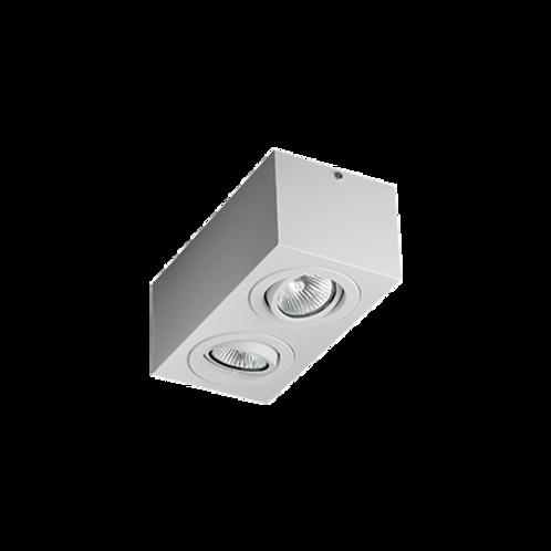 Spot Box de sobrepor com facho orientável para lâmpada Dicróica LED