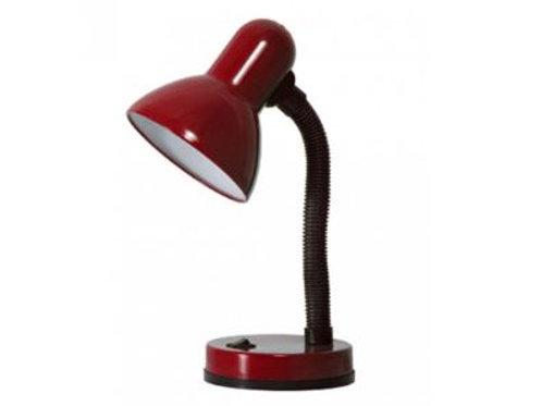 Luminária de Mesa c/ Base Pequena 1L E-27 Vermelha