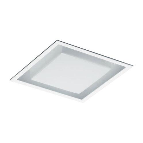 Plafon Embutido quadrado com acrílico moldado.