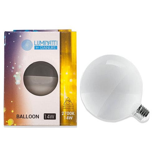 Balloon Luminatti 14W 2700k Amarela 1300 Lum.