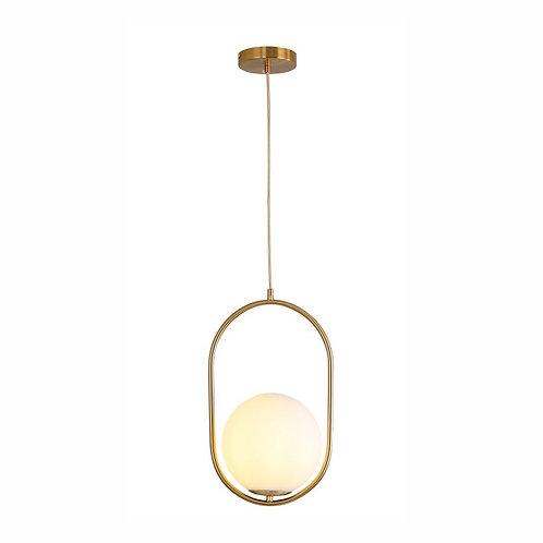 Pendente metal dourado - JLR Iluminação