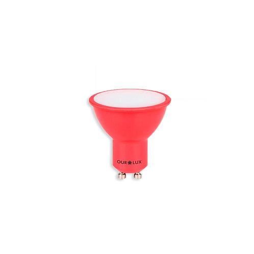 Dicroica Ourolux Vermelho 4W