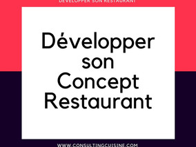 De nouveaux coaching cuisine, charcuterie, et pâtisserie pour restaurateurs : www.consultingcuisine.