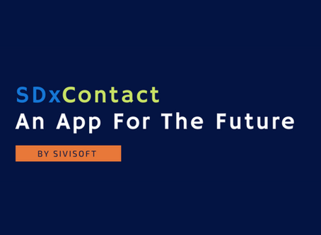 SDxContact- An App For The Future