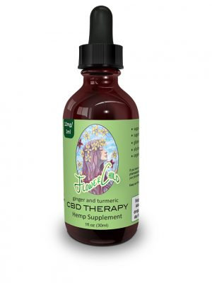 FlowerChild CBD Therapy 350 w/Ginger and Tumeric