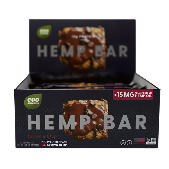 EVO CBD Hemp bar - Brownie