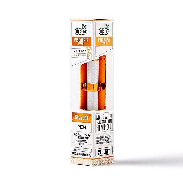 Pineapple Express CBD Terpenes Vape Pen – 50mg