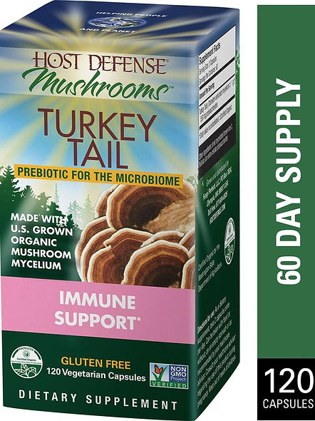Turkey Tail Capsule 120ct