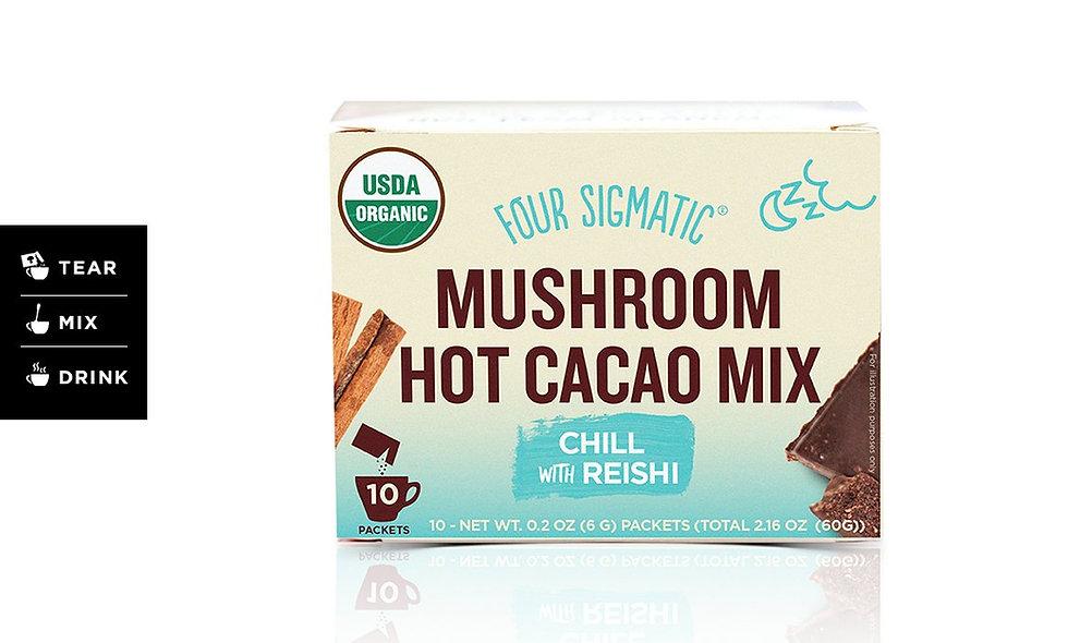 Mushroom Hot Cacao w/Reshi
