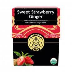 Organic Sweet Strawberry Ginger