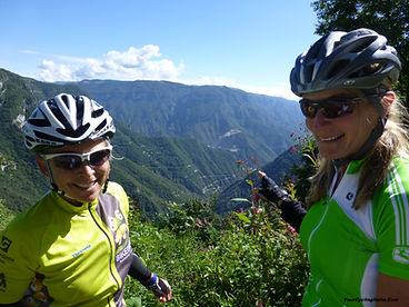 See that 20 Turn Climb we just did?!...On Your Cycling Italia's Bicycle Tours.