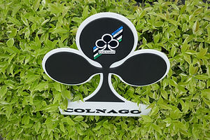 The Italian colnago bicycle factory visit with Your Cycling Italia's bicycle tours.