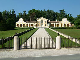 Palladio Designed Villa Barbaro in Maser Italy.