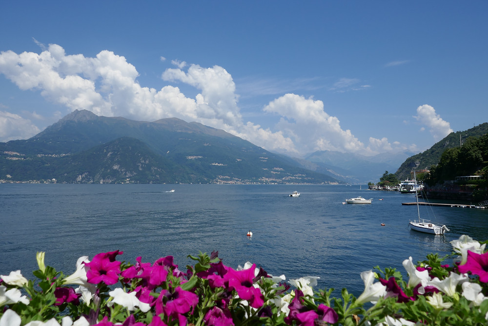 Lake Como with their many views while riding with Your Cycling Italia bicycle tours.