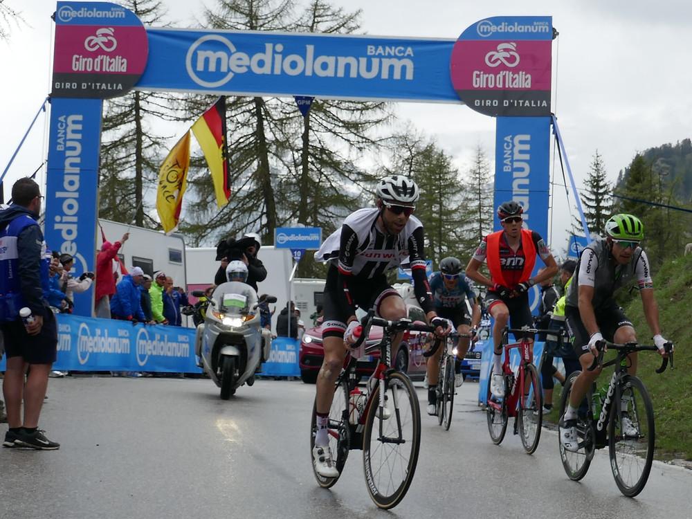 2018 Giro d'italia Passo Tre Croci Cortina