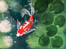 Add colour to fish
