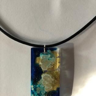 SOLD - oblong pendant