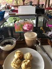 Scone and Coffee break