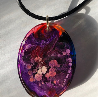 P3 Large Oval Pendant