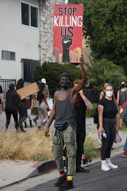 BLM Protest Hollywood.