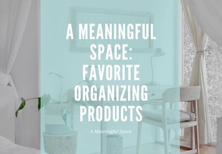 Top 5 Favorite Organizing Products