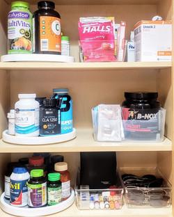 Organized Medicine Cabinet