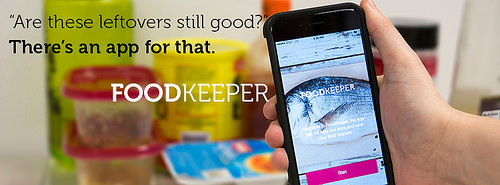 Foodkeeper App from the USDA