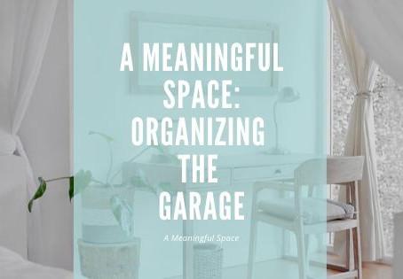 Organizing Your Garage:  Ideas & Tips