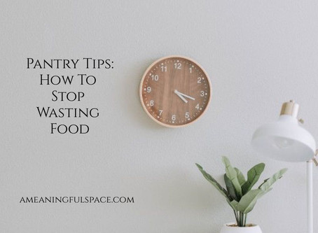 A Meaningful Space: How to Prevent Wasting Food