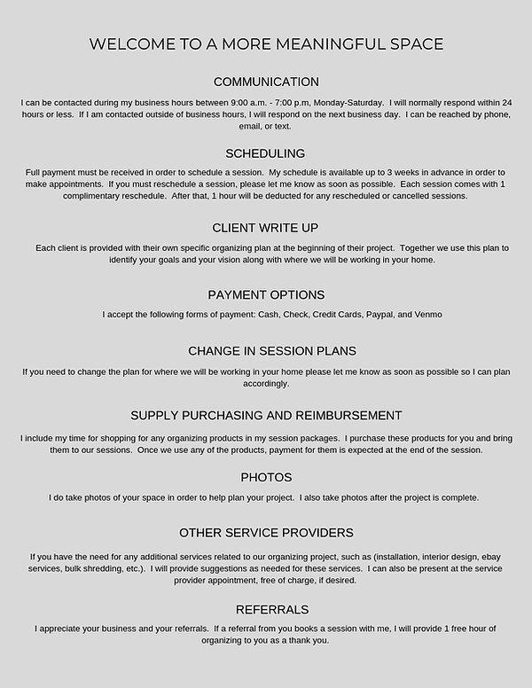 Client Guide FAQ