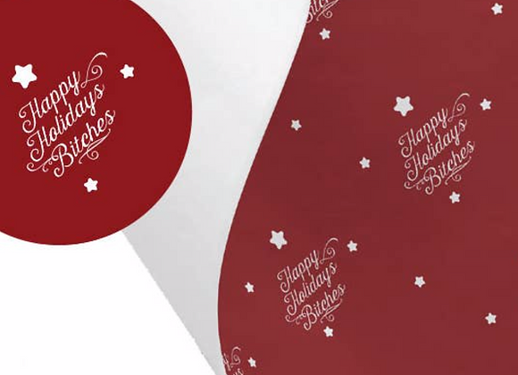 NSFW Collection - Wrapping Paper happy Holidays
