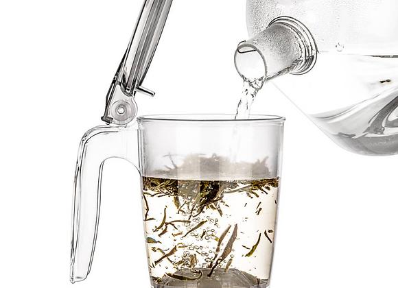 rapidTEA Maker 16oz - Loose Tea Teapot, Bottom Dispensing