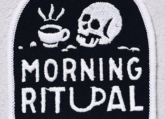 Morning Ritual Coffee Patch Iron-On