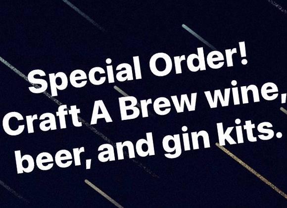 Special Order - Craft a Brew Kits