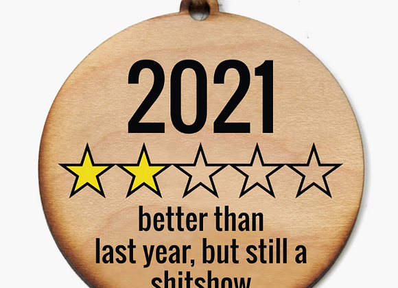 2021's Official Holiday Ornament - Preorder (Arrives 11/1)