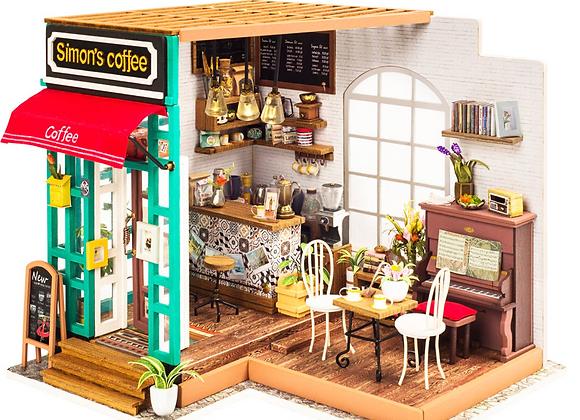 Simon's Coffee DIY Miniature Coffeehouse Kit