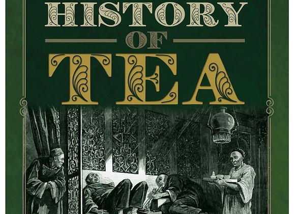 A Dark History of Tea - hardcover book
