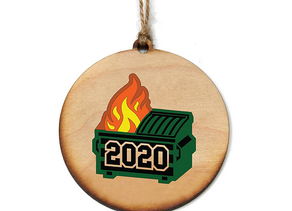 Dumpster Fire 2020 Keepsake Ornament