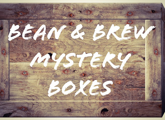 Monthly Mystery Bean & Brew Box - Coffee