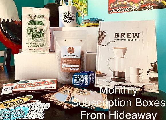 Bean & Brew Box COFFEE Subscription - One year