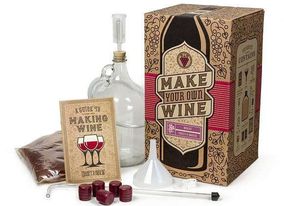 Make Your Own Wine Kit - Merlot