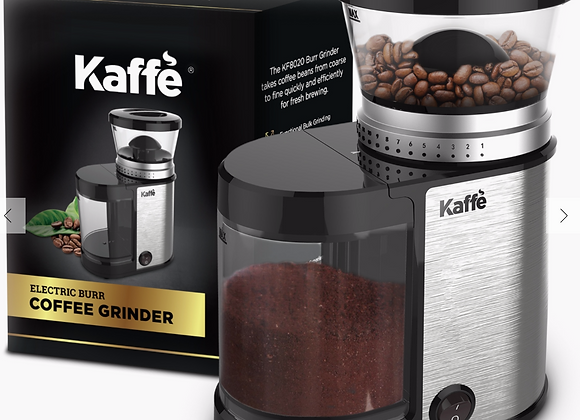 Kaffe Electric Burr Coffee Grinder - Stainless Steel