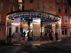 Place des Artistes on a Fridayevening