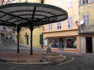 the centre of the square where I live- Place desArtistes