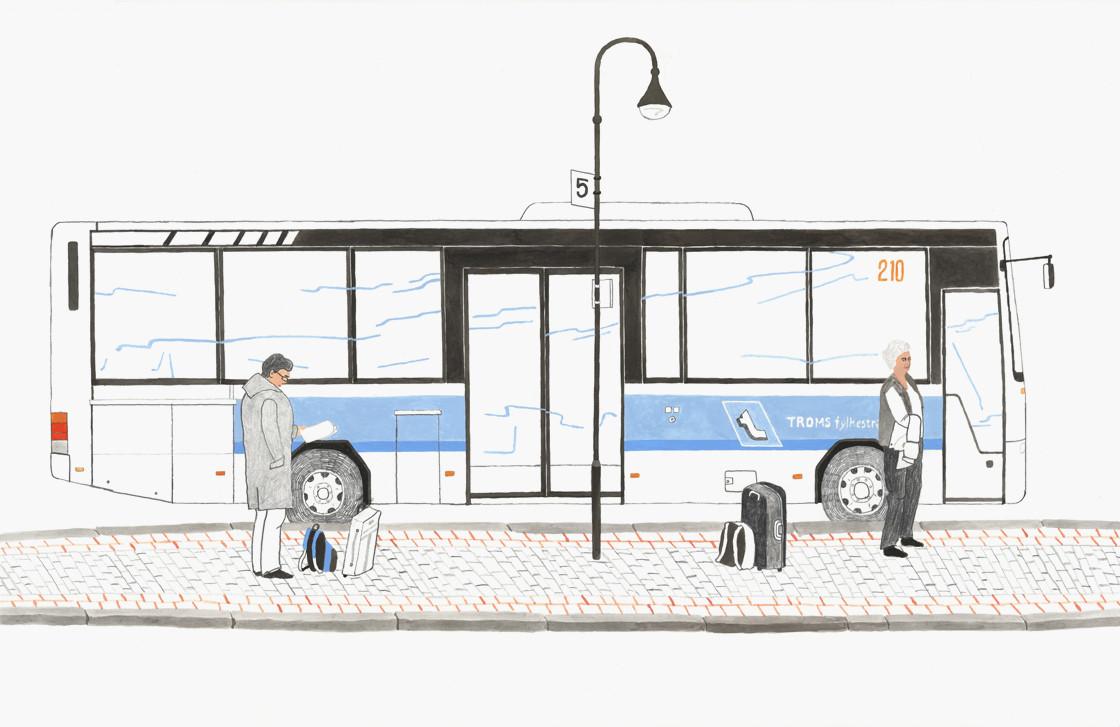 Harstad Bus Terminal in Norway.jpg