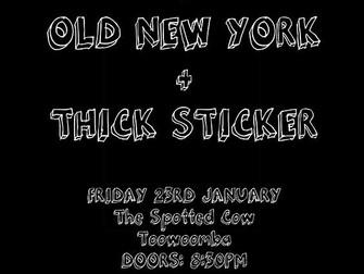 Suicide Swans w/ Thicker Sticker & Mitch Smith