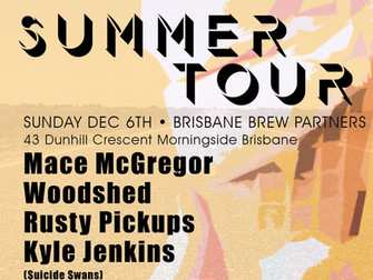 Suicide Swans & Rusty Pickups Summer Mini Tour 2020
