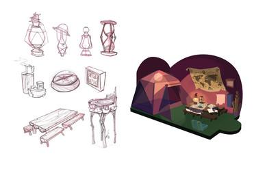 Durian interior concept
